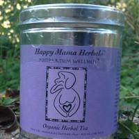 Postpartum Wellness Tea - 2oz tin by Texas Medicinals